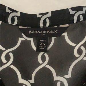 Banana Republic Tops - XSP / Banana Republic blouse - sheer
